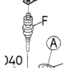 Свеча накаливания Kubota V1505